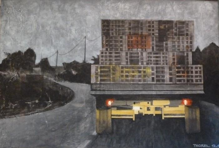 camion de cageots