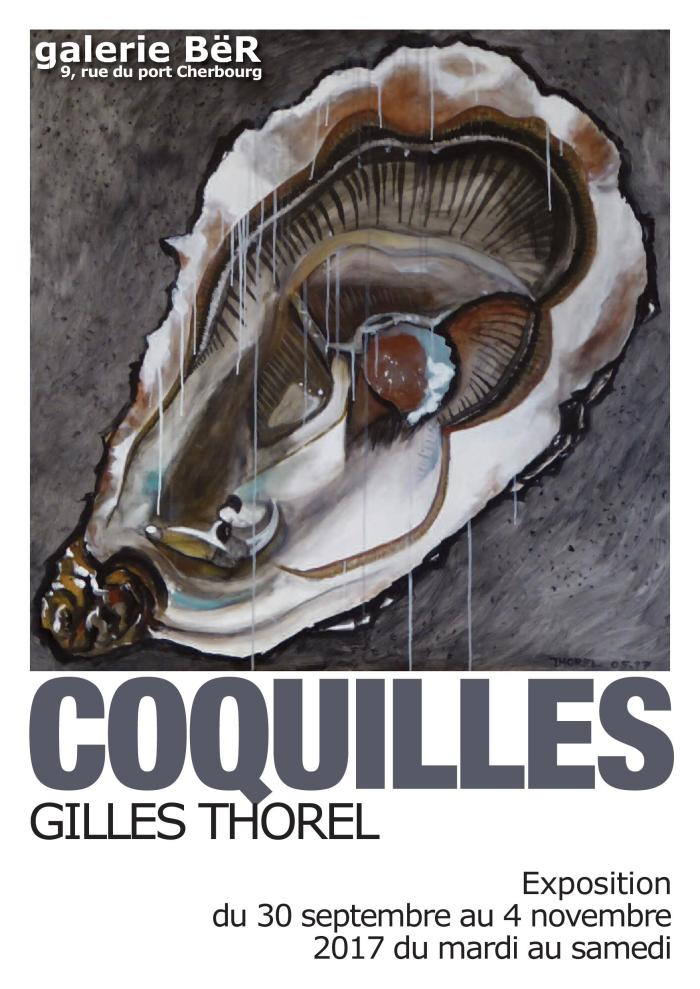 Affiche expo galerie BER