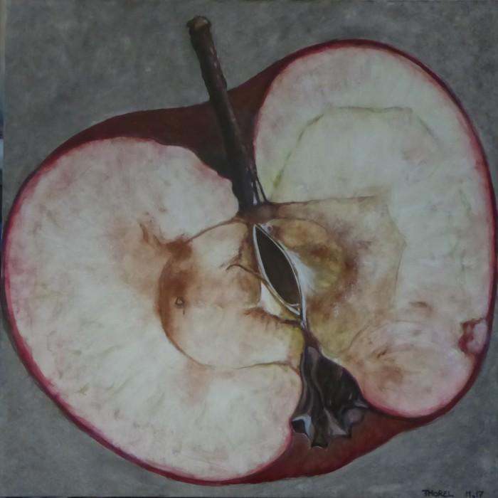 pomme coupée 2